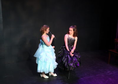 Sabrina and Audrey Edwards - Galinda and Elphaba